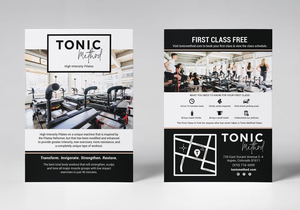Tonic Method flyer